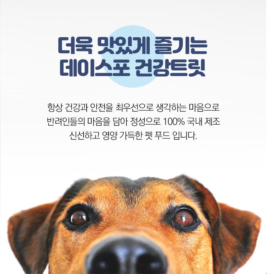 데이스포 눈/종합/관절 트릿 (400g)-상품이미지-2